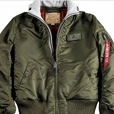 bunda Alpha Industries MA - 1 D TEC Dark Green