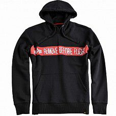 Mikina Alpha Industries RBF Hoody black