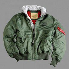 Alpha Industries MA - 1 D TEC Sage Green