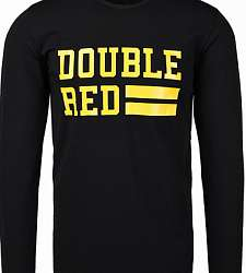 triko s dlouhým rukávem  DOUBLE RED UNIVERSITY OF RED long sleeve WASP Edition