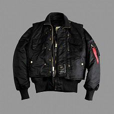 bunda Alpha Industries X Force Black