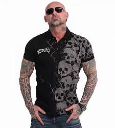 polo triko Yakuza Killing Fields TPO 17043 Black
