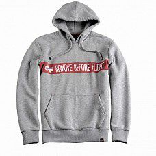 Mikina Alpha Industries RBF Hoody grey