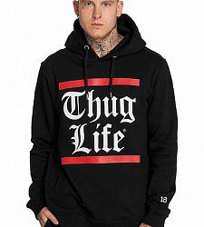 mikina Thug Life TLHD134BLK B.Gothic