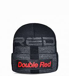 kulich DOUBLE RED STREET HERO Trademark Black Cap