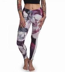 legíny Yakuza Purple Skull  LEB 14129 Multicolored