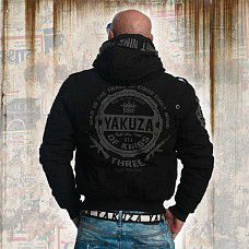 Yakuza TRADE OF KINGS MILITARY JACKET WJB 11027 Black