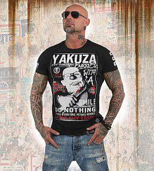 triko Yakuza BURRIED TSB 13031 Black