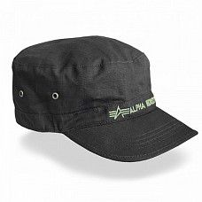 Kšiltovka Alpha Industries Army Hat Black