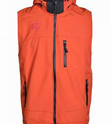 vesta DOUBLE RED Men's Softshell Vest Orange
