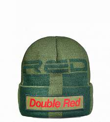 kulich DOUBLE RED STREET HERO Trademark Army Green Cap