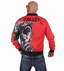 bunda Yakuza Beast Bomber Jacket JB 15052 Red