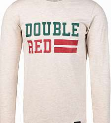 triko s dlouhým rukávem DOUBLE RED UNIVERSITY OF RED long sleeve