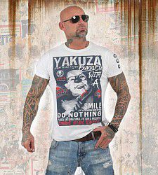 triko Yakuza BURRIED TSB 13031 White